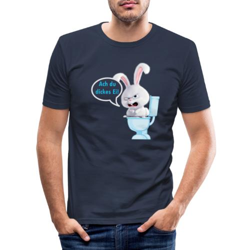 Ach du dickes Ei - Männer Slim Fit T-Shirt