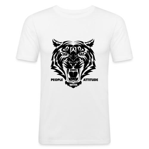 tijger-zwart - slim fit T-shirt