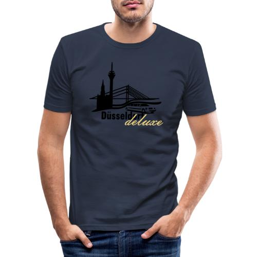Düsseldorf Deluxe Motiv - Männer Slim Fit T-Shirt