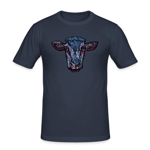 Ku - Slim Fit T-skjorte for menn
