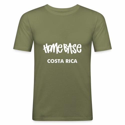 WORLDCUP Costa Rica - Männer Slim Fit T-Shirt