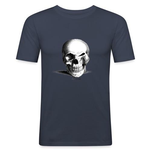 Happy Skull - T-shirt près du corps Homme
