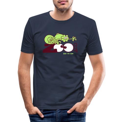 Zooco Chameleon - Men's Slim Fit T-Shirt