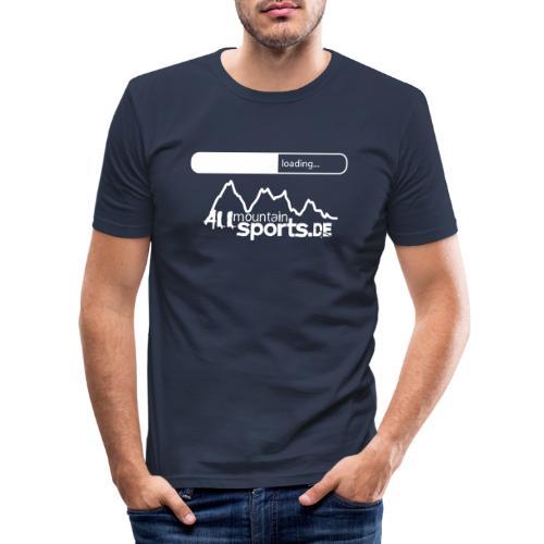 2013er ALLmountainSPORTS de Logo loading - Männer Slim Fit T-Shirt