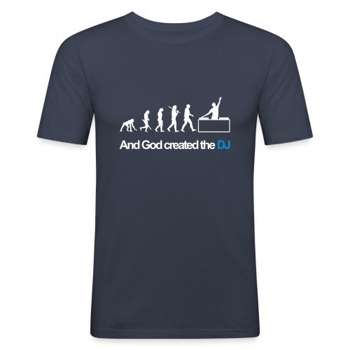 dj evolution - T-shirt près du corps Homme