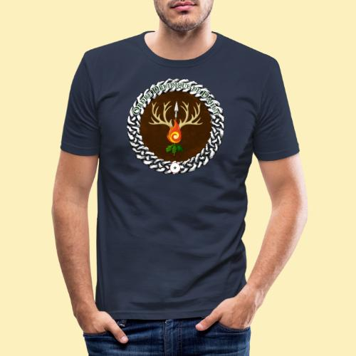 Médaillon de Neved - T-shirt près du corps Homme