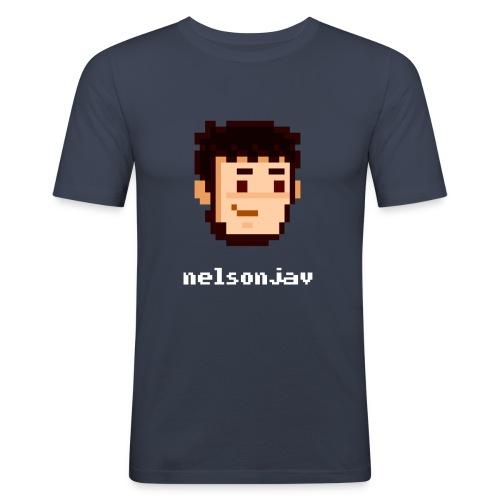 Simple Nelsonjav - Men's Slim Fit T-Shirt