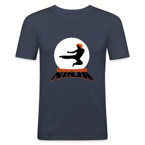 Ginger Haired Ninja - Men's Slim Fit T-Shirt