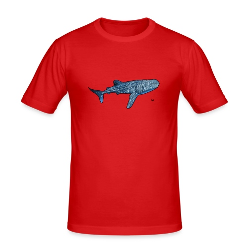 Whale shark - Men's Slim Fit T-Shirt