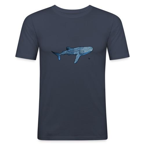 Walhai - Männer Slim Fit T-Shirt
