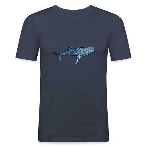 Whale shark - Maglietta aderente da uomo