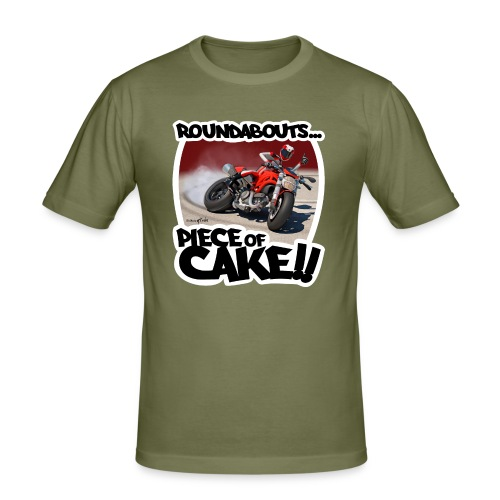 Ducati Monster Skidding - Camiseta ajustada hombre