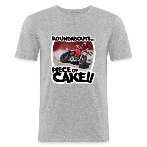 Ducati Monster Skidding - Camiseta ajustada hombre