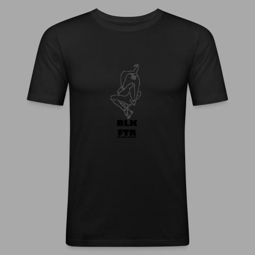 BLK FTR N°7 - Maglietta aderente da uomo