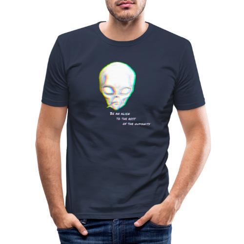 Alien to the world - Camiseta ajustada hombre