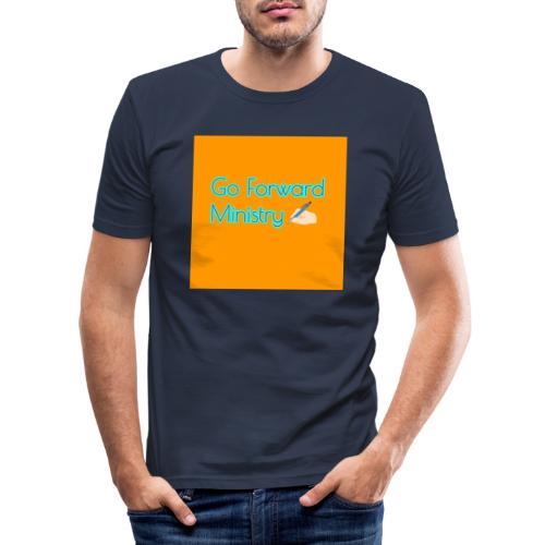 gå framåt ministeriet - Slim Fit T-shirt herr