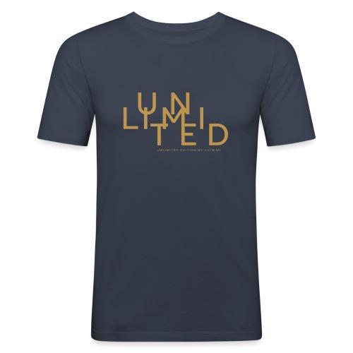 Unlimited gold - Men's Slim Fit T-Shirt