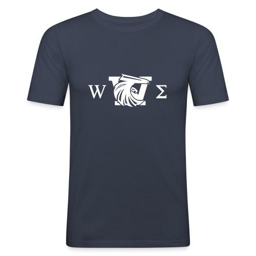 we logo nb geek - T-shirt près du corps Homme