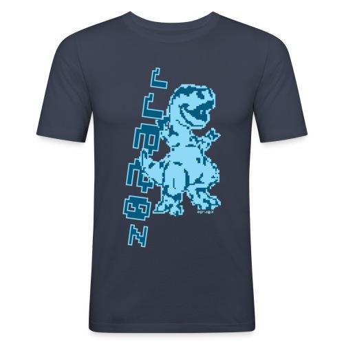 z0r Dinosaur - Men's Slim Fit T-Shirt
