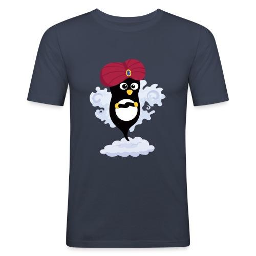 Génie Pingouin - T-shirt près du corps Homme