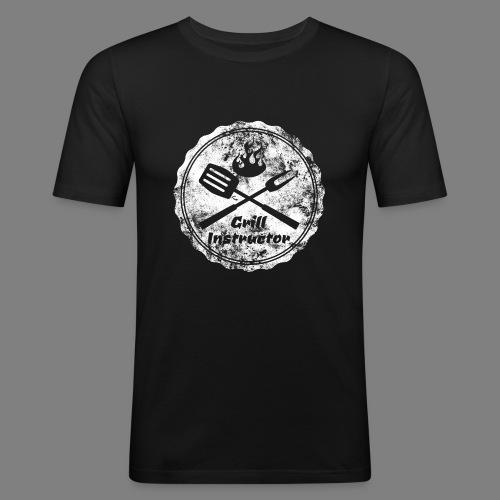 Grill Instructor - Männer Slim Fit T-Shirt