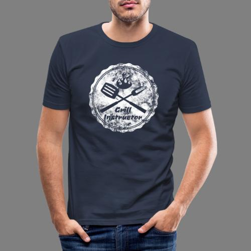 Grill Instructor - Männer Slim Fit T-Shirt