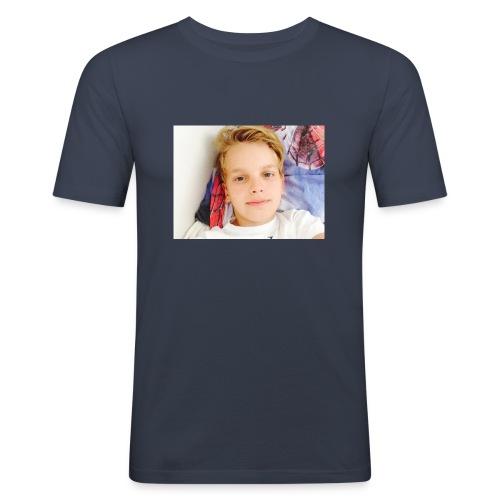 first design - Herre Slim Fit T-Shirt