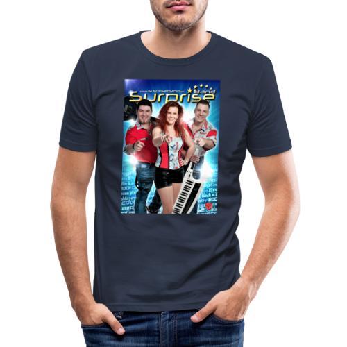 Autogramm Surprise Band - Männer Slim Fit T-Shirt