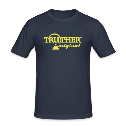 Truther - Männer Slim Fit T-Shirt
