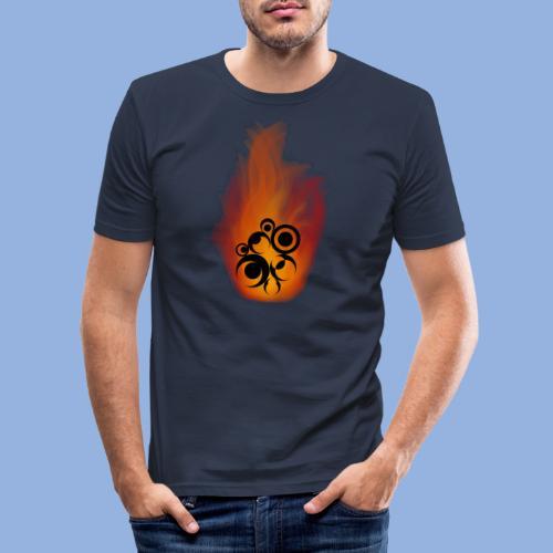 Should I stay or should I go Fire - T-shirt près du corps Homme