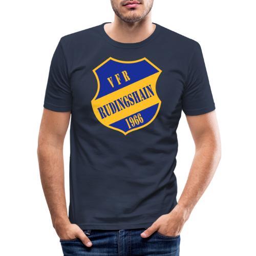VFR-Gelb-Blau - Männer Slim Fit T-Shirt