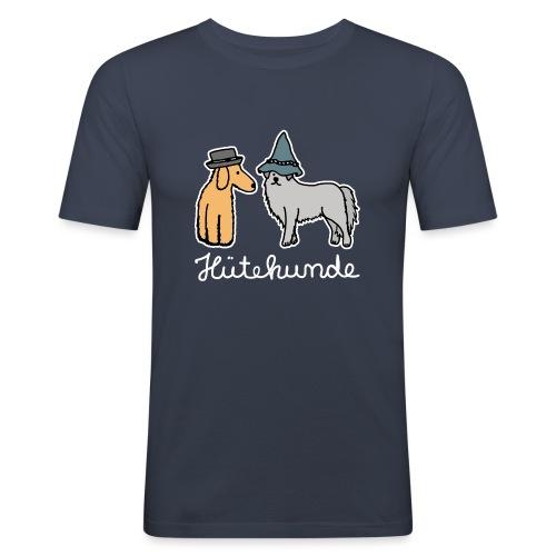 Hütehunde Hunde mit Hut Huetehund - Männer Slim Fit T-Shirt