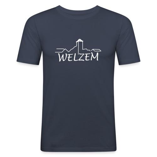 Welzem - Männer Slim Fit T-Shirt