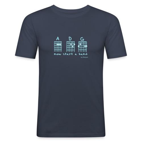 Now Start A Band - Männer Slim Fit T-Shirt