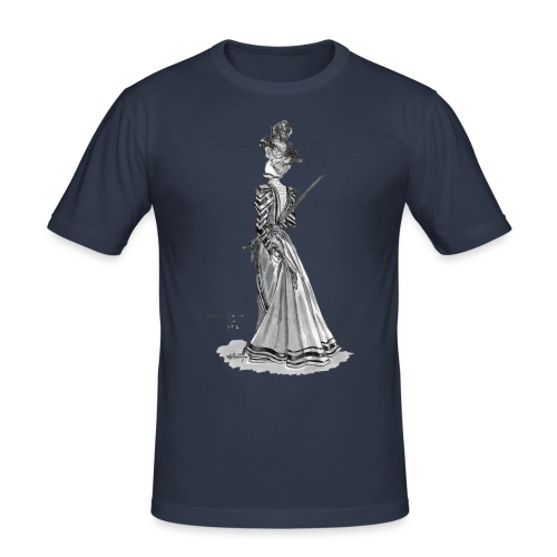 Victorian Fashion - Men's Slim Fit T-Shirt