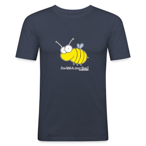 beekick - Männer Slim Fit T-Shirt