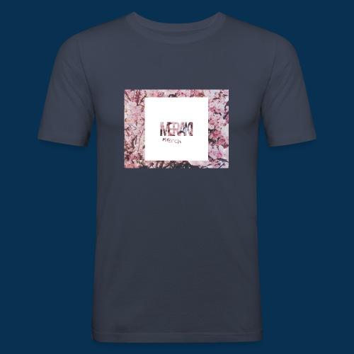 Sakura - Slim Fit T-shirt herr