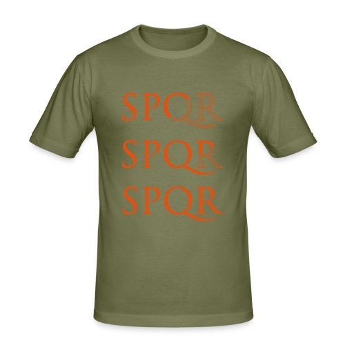 spqr - Camiseta ajustada hombre
