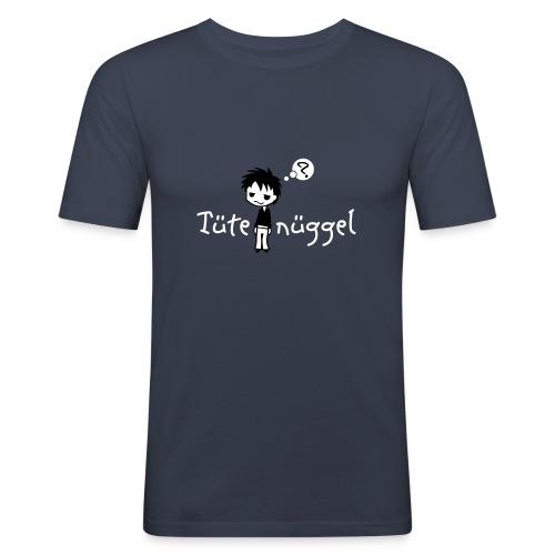 Tütenüggel (Kölsch, Karneval, Köln) - Männer Slim Fit T-Shirt
