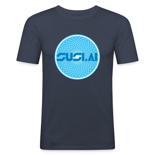 SUSI.AI Dreamcatcher Logo - Men's Slim Fit T-Shirt