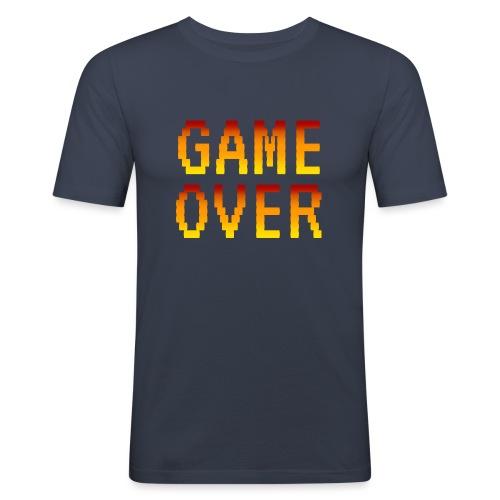 Game Over - Maglietta aderente da uomo