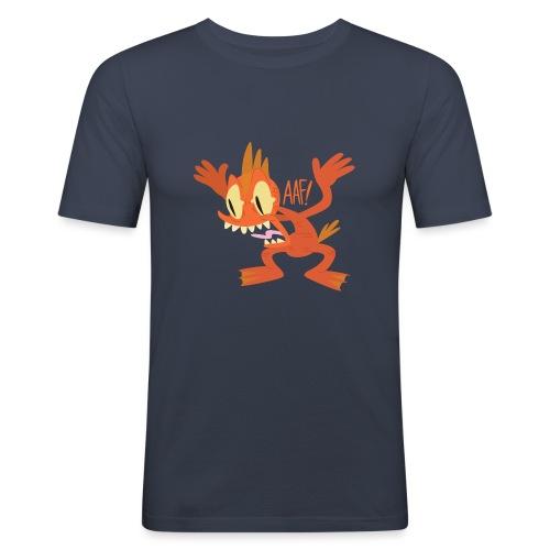 Cyril the Mutant Goldfish - Men's Slim Fit T-Shirt