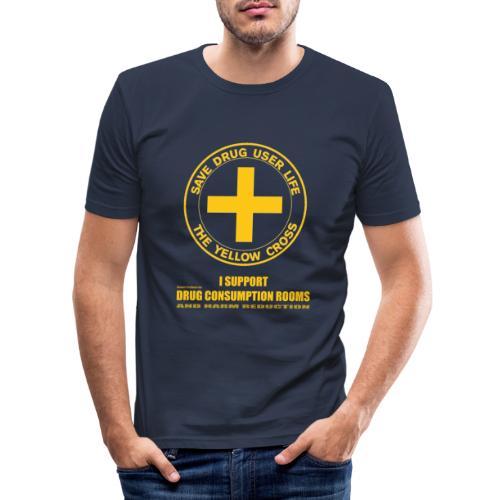 DCRs Save Lives - Obcisła koszulka męska