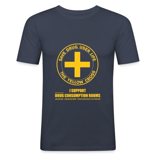 DCRs Save Lives - T-shirt près du corps Homme