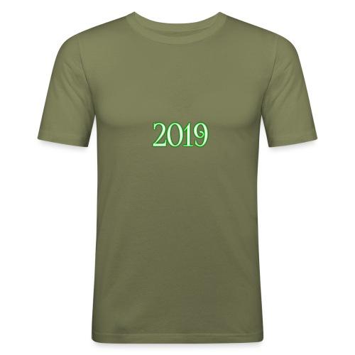 2019 - Men's Slim Fit T-Shirt