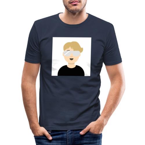 Albin kn-YT - Slim Fit T-shirt herr