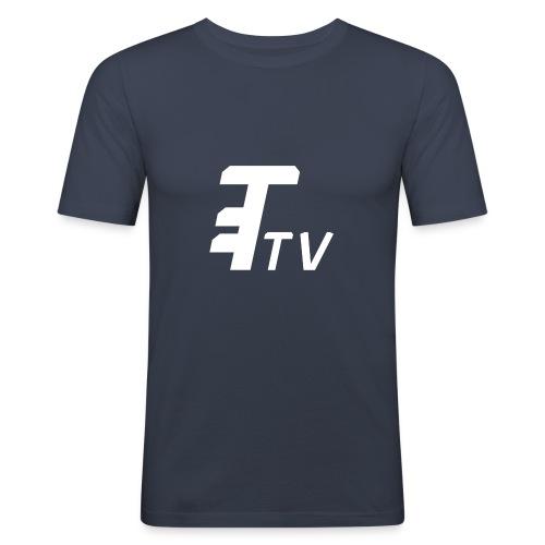 TelemichusTV Logo Shirt - Men's Slim Fit T-Shirt
