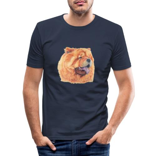 chow chow - Herre Slim Fit T-Shirt