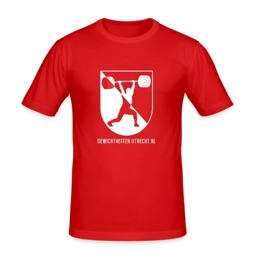 Modern Logo - Mannen slim fit T-shirt