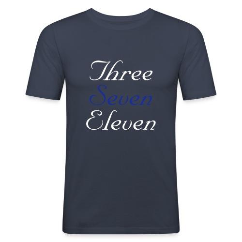 three seven eleven - Men's Slim Fit T-Shirt